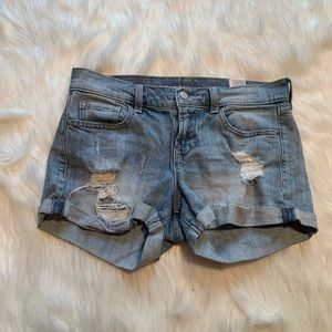 Old Navy Boyfriend Drew Short Light Wash
